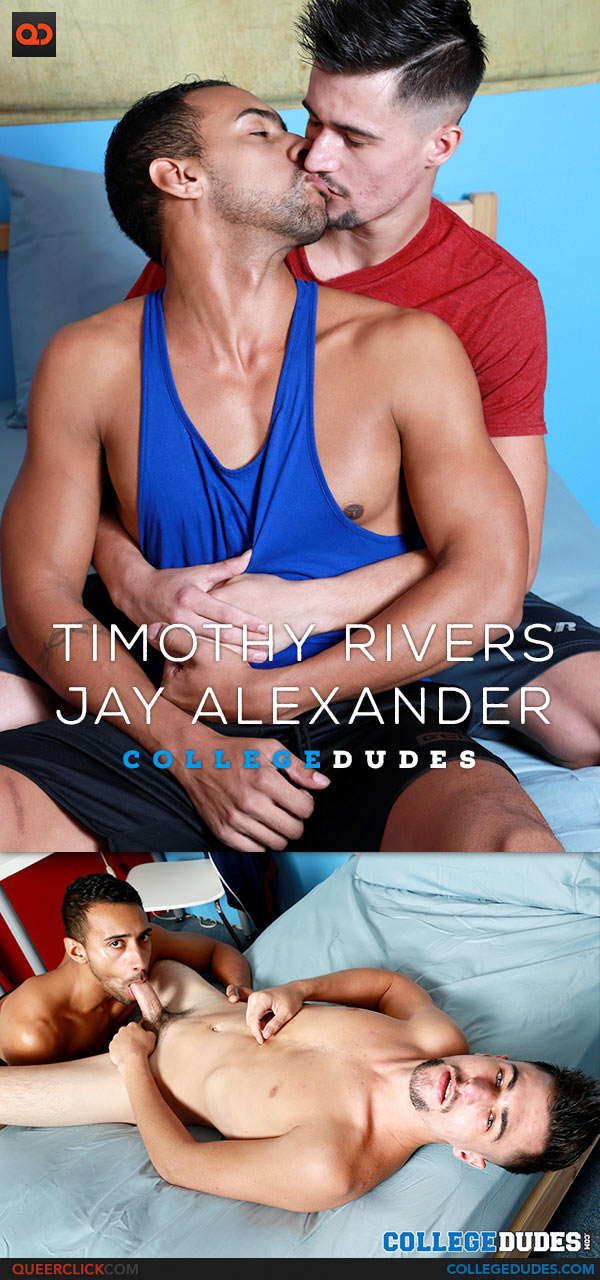 CollegeDudes: Timothy Rivers Fucks Jay Alexander