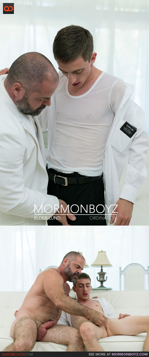 MormonBoyz: Elder Lund - Ordination