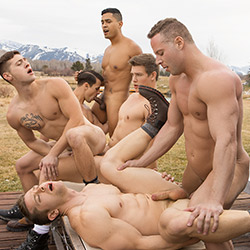 Sean Cody: Wyoming Getaway Part 4 – Asher, Deacon, Dillan, Jack, Lane, Malcolm – Holiday Sale!