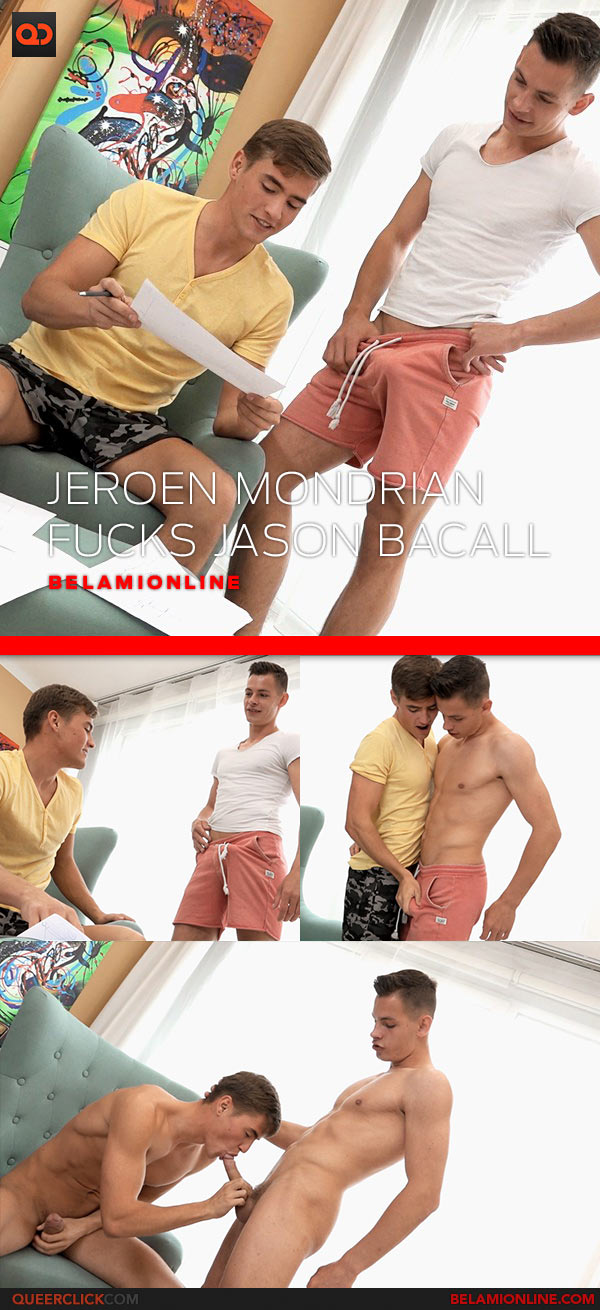 Bel Ami Online: Jeroen Mondrian Fucks Jason Bacall Bareback