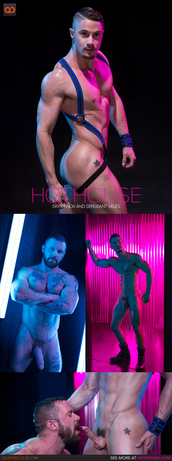 Hot House: Skyy Knox and Sergeant Miles