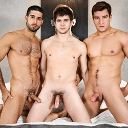 Men.com:  Diego Sans, Jordan Boss and Will Braun