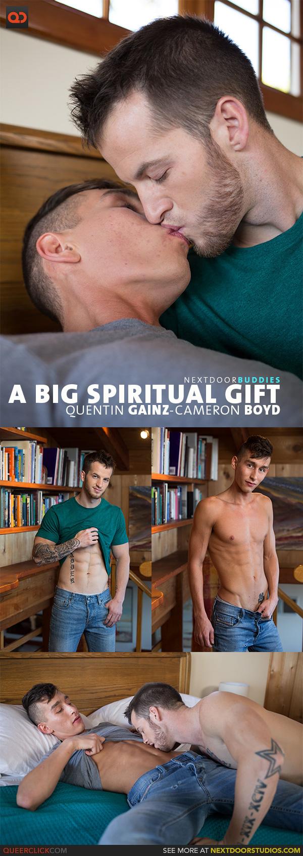 Next Door Studios: Quentin Gainz and Cameron Boyd