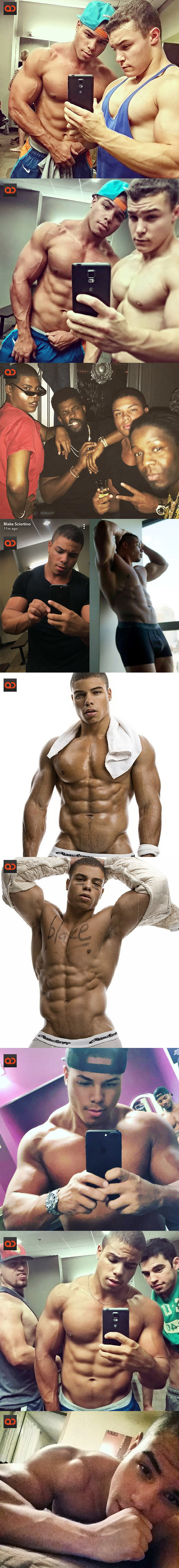 Blake Sciortino, Fitness Model From MTV2 Guy Court, Alleged Exposed Cock Leaks!