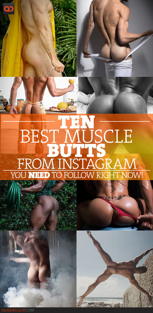 Ten Best Muscle Butts From Instagram You Need To Follow Right Now! – Part 3