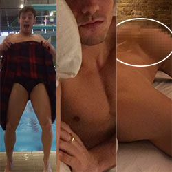 British Olympic Diver Tom Daley Back In The Headlines With New Racy Leaked Nudes!