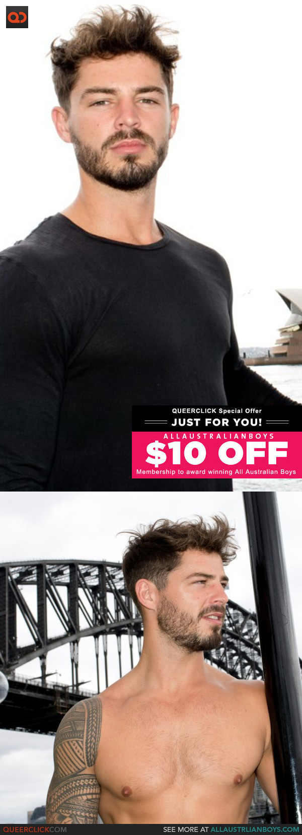 All Australian Boys: Charlie - Exclusive $10.00 Discount!