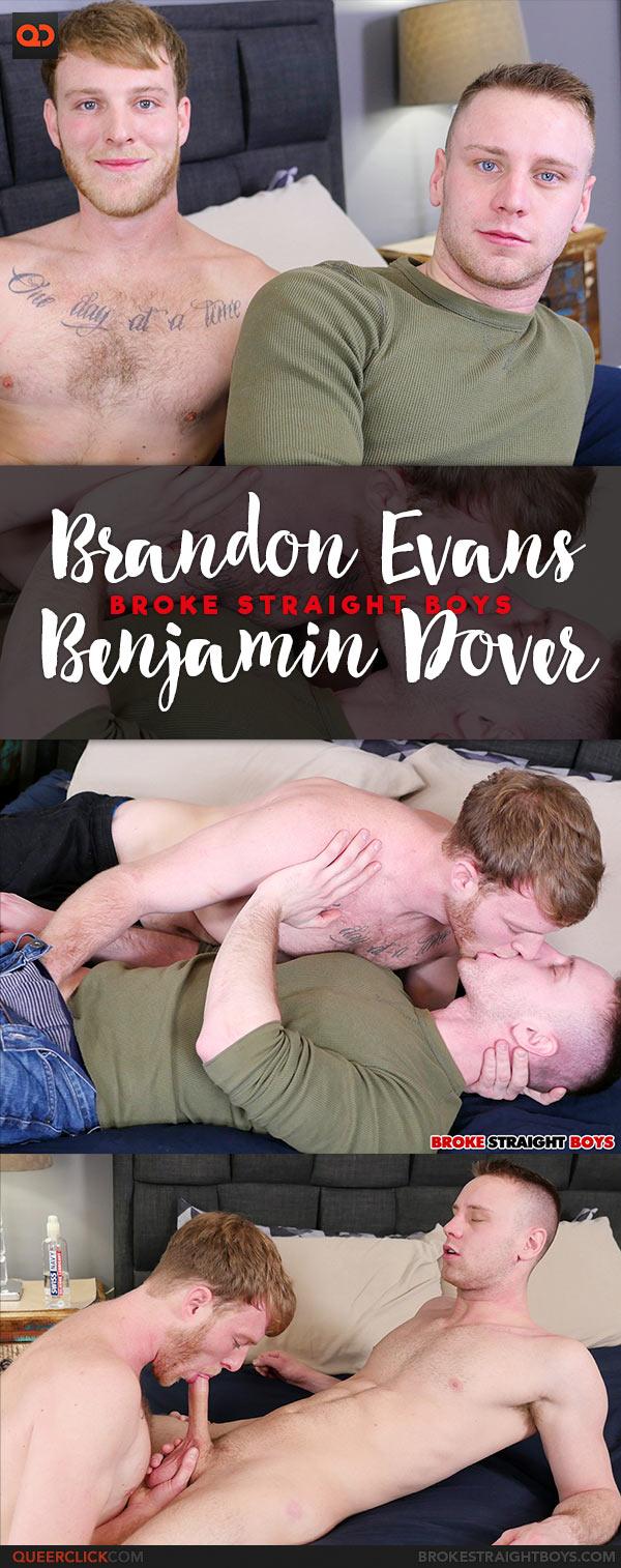 Broke Straight Boys: Benjamin Dover Fucks Brandon Evans Bareback
