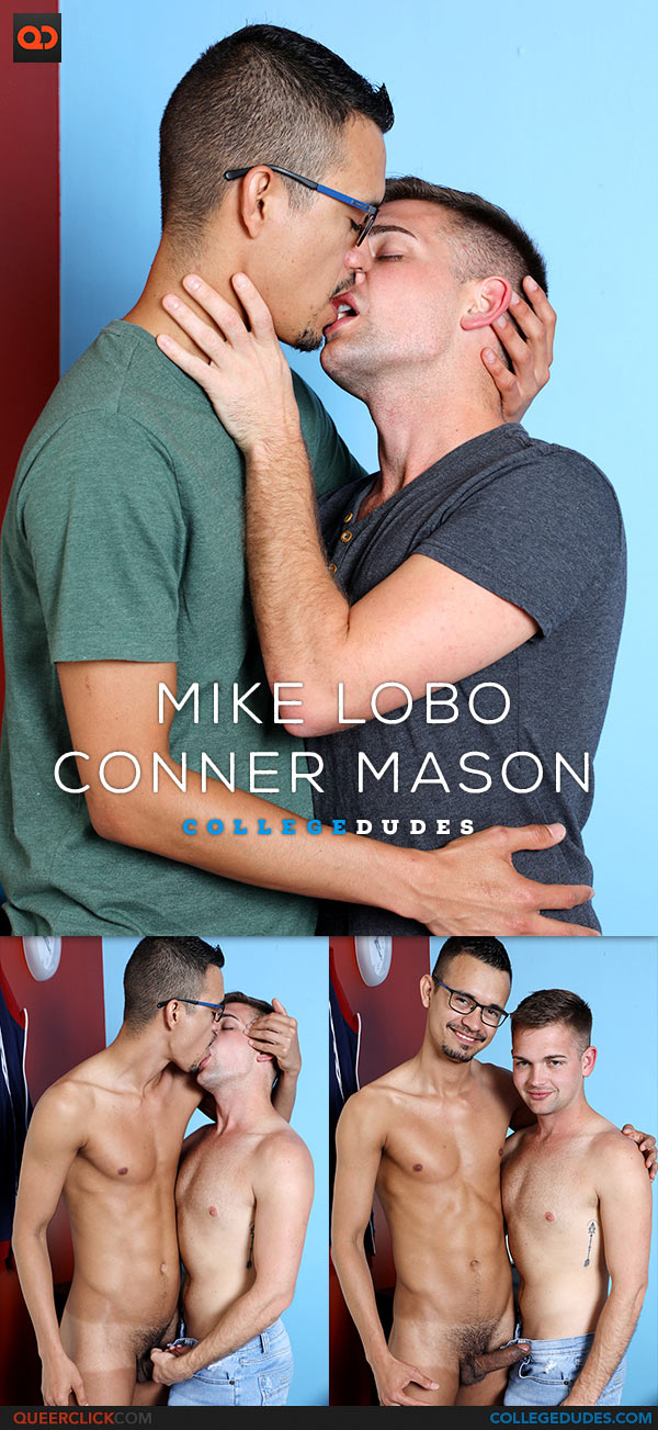 CollegeDudes: Mike Lobo Fucks Conner Mason