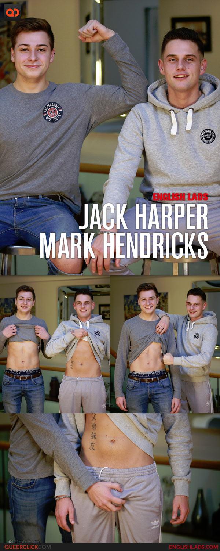 English Lads: Jack Harper and Mark Hendricks' First Man Wank