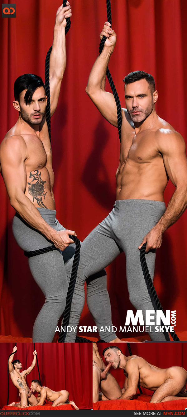Men.com:  Andy Star and Manuel Skye