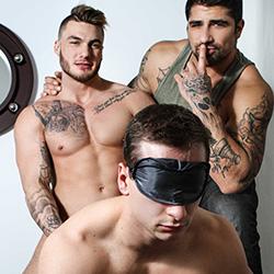 Men.com:  Joey Mentana, Ryan Bones and William Seed