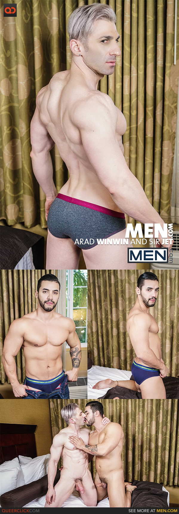 Men.com:  Arad Winwin and Sir Jet