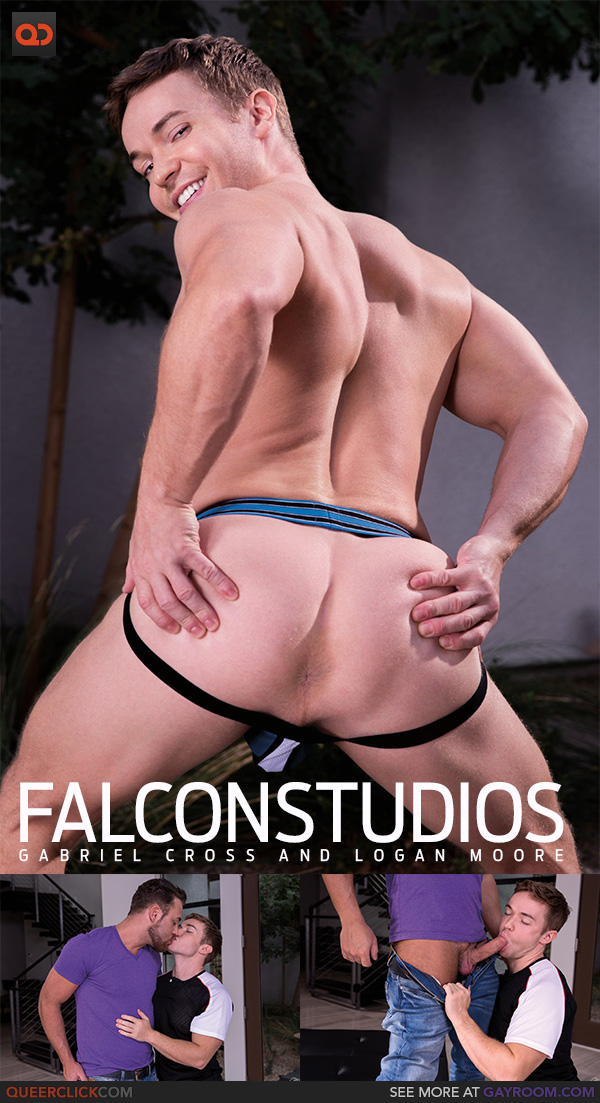 Falcon Studios: Gabriel Cross and Logan Moore