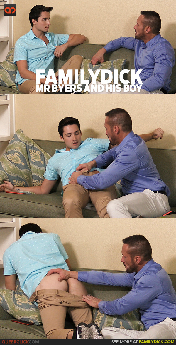 Family Dick: Mr Byers and His Boy Chapter 6: Popping His Cherry - Save 40% Now – For OUR Extended Family