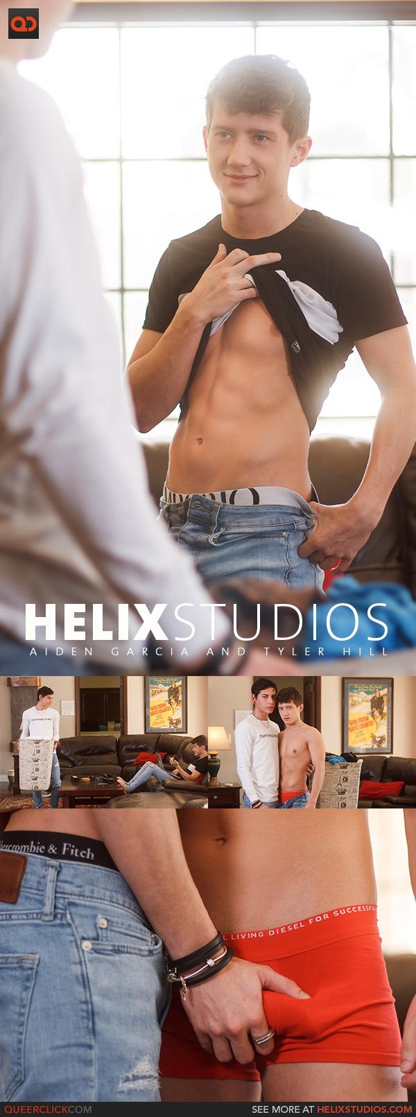 Helix Studios: Aiden Garcia and Tyler Hill
