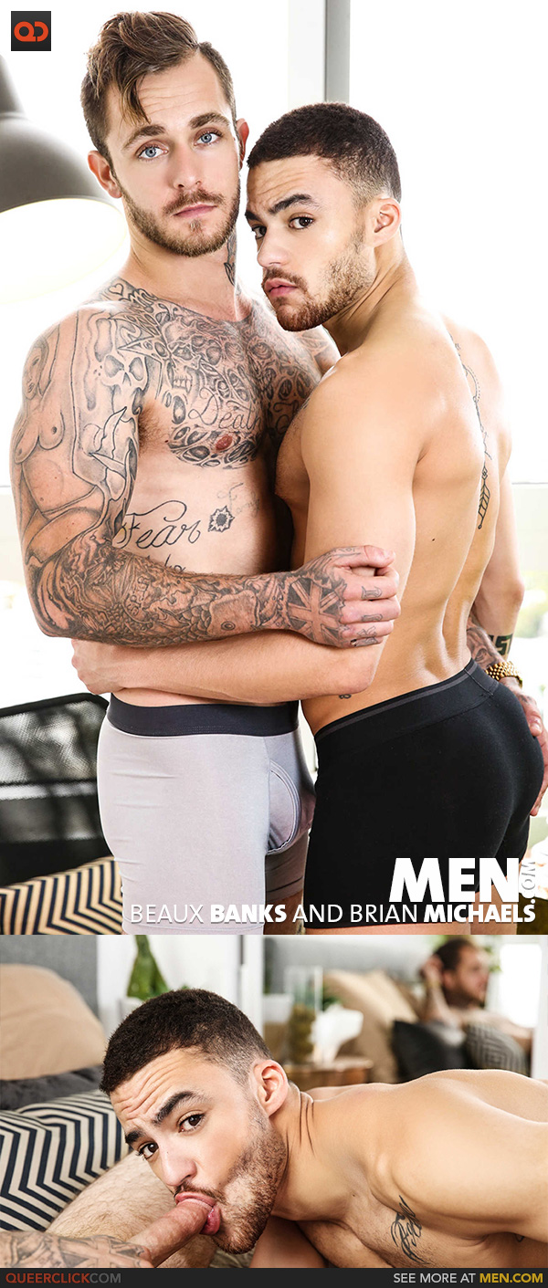 Men.com:  Beaux Banks and Brian Michaels