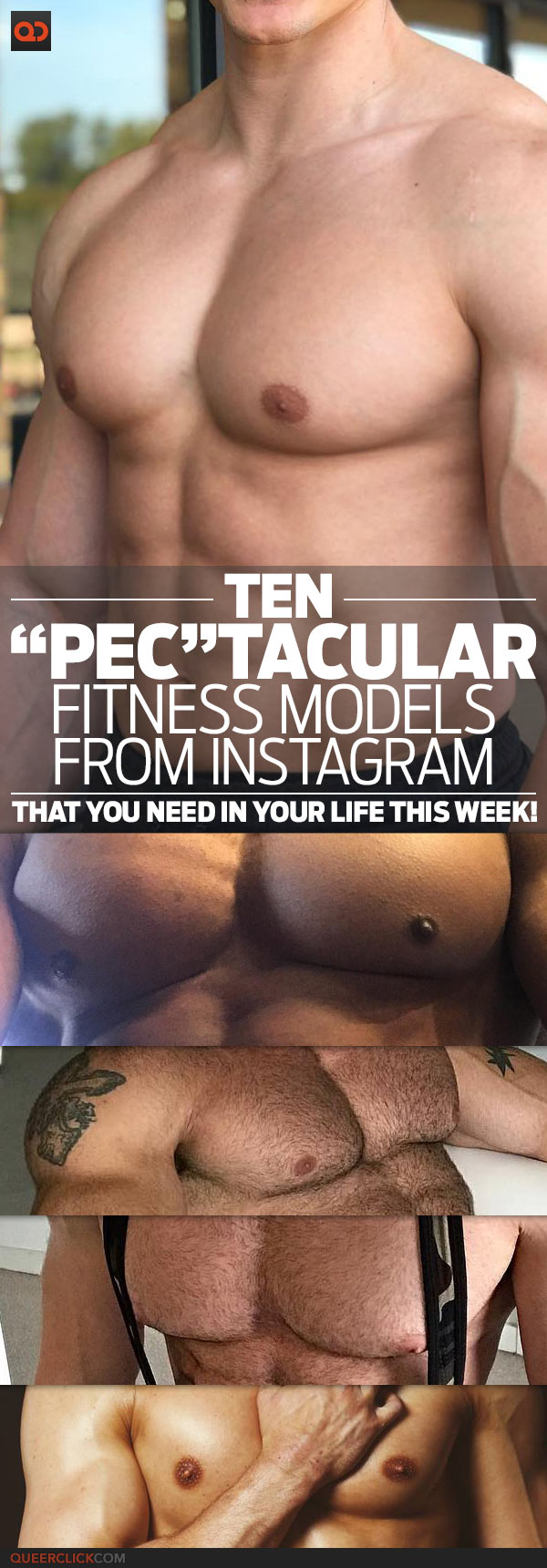 "Ten ""Pec""tacular Fitness Models From Instagram That You Need In Your Life This Week!"