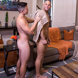Raging Stallion: Sean Zevran and Cooper Dang