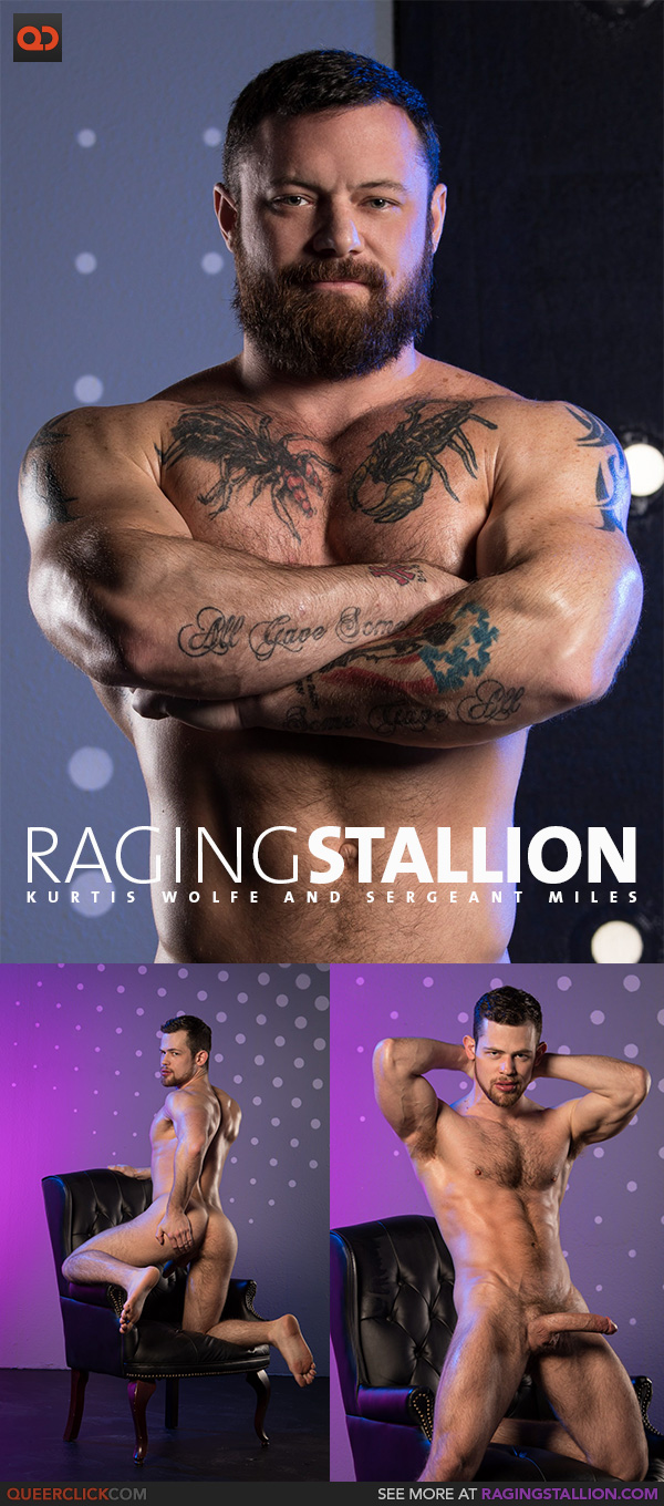 Raging Stallion:  Kurtis Wolfe and Sergeant Miles