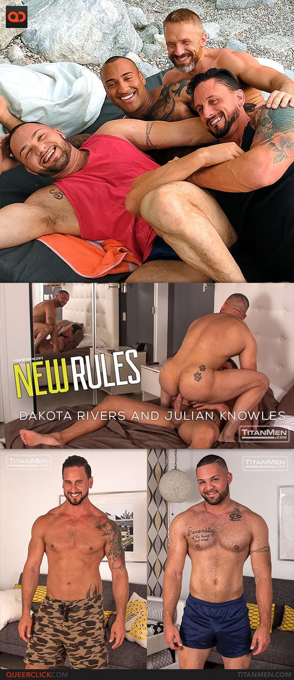 TitanMen: Dakota Rivers Fucks Julian Knowles - New Rules