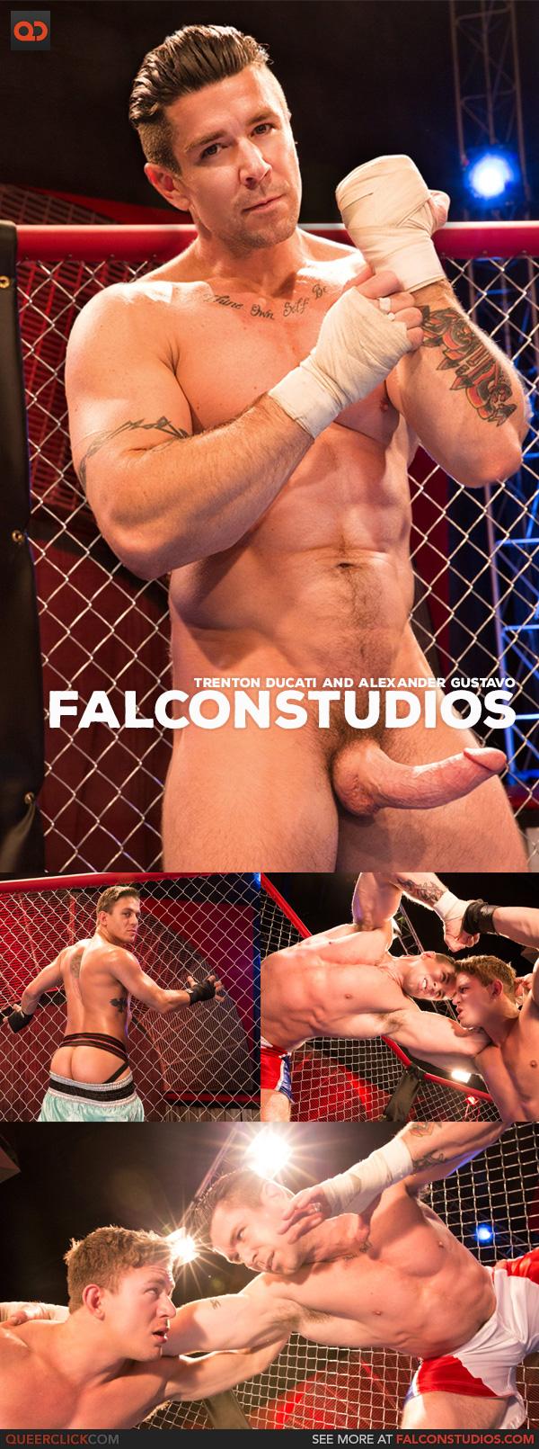 Falcon Studios: Trenton Ducati and Alexander Gustavo