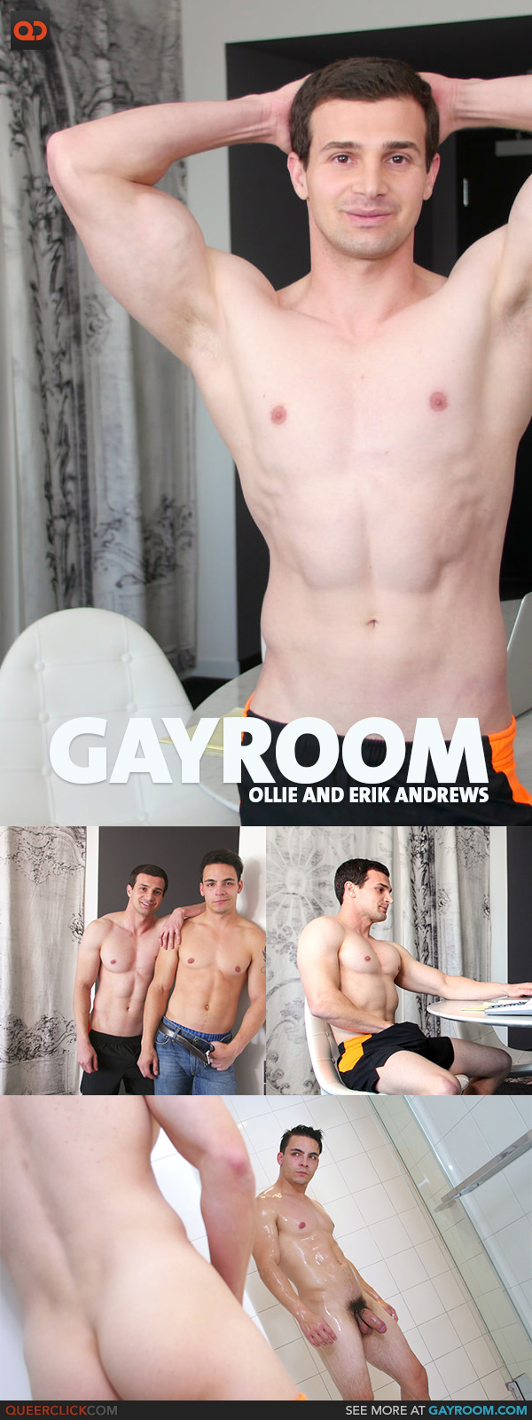 GayRoom: Ollie and Erik Andrews