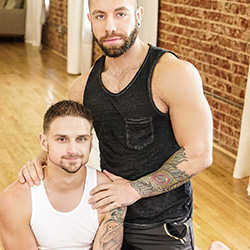 Men.com:  Eddy Ceetee and Jackson Reed