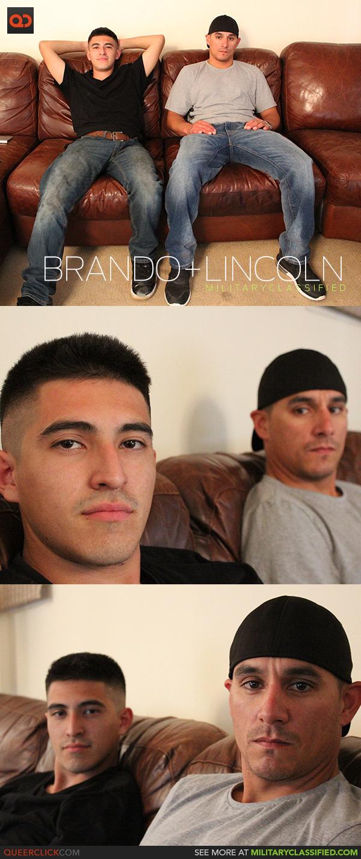 Military Classified: Brando and Lincoln