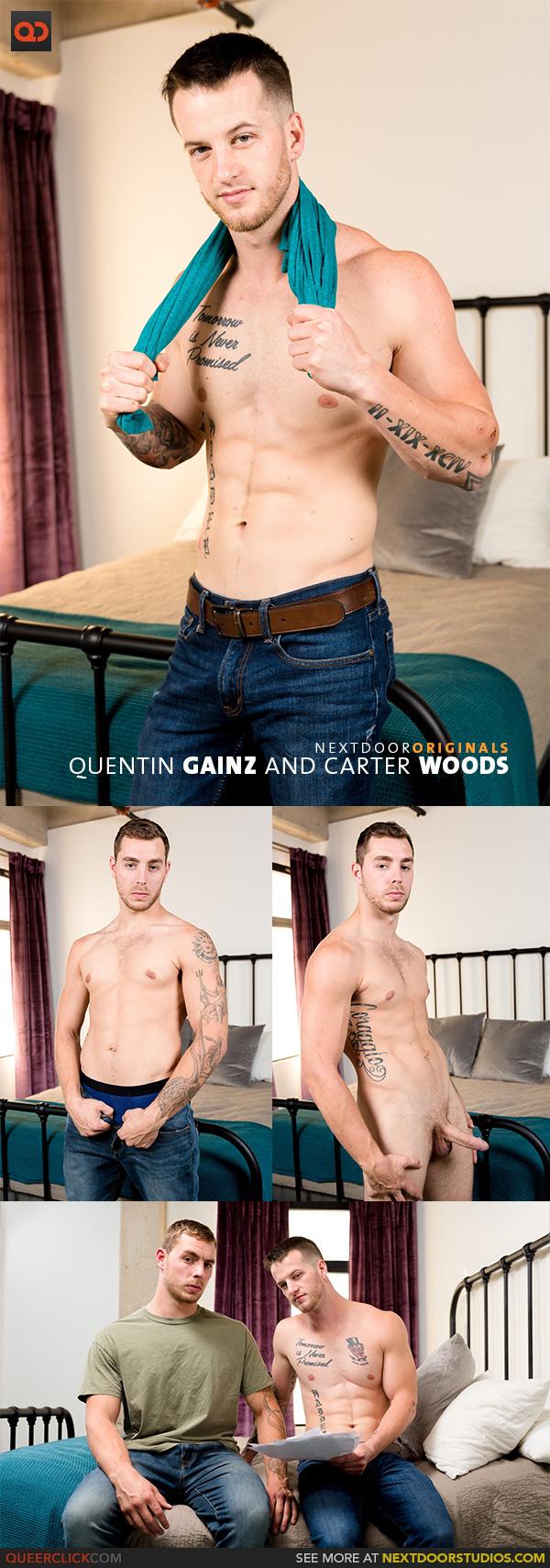 Next Door Studios:  Quentin Gainz and Carter Woods
