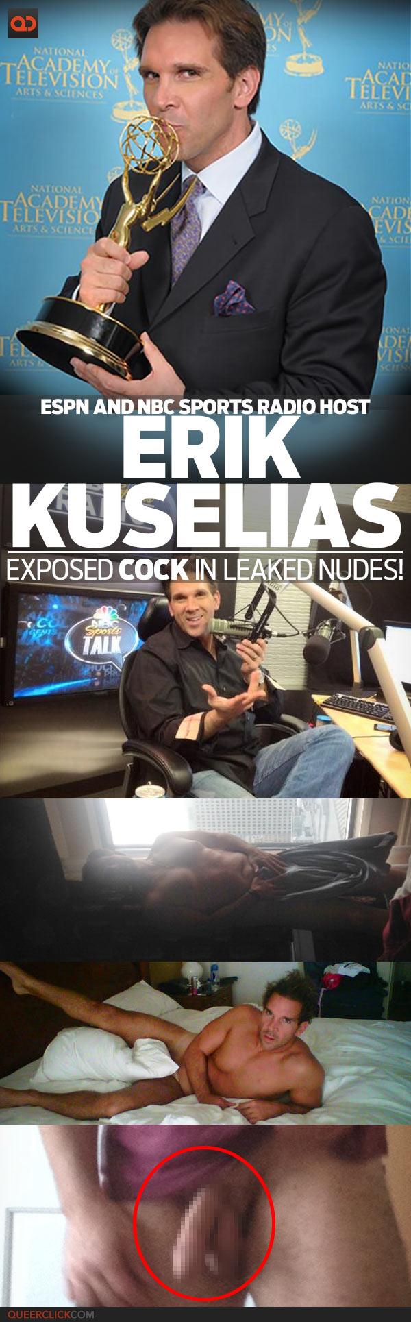 Erik Kuselias, ESPN And NBC Sports Radio Host, Exposed Cock In Leaked Nudes!