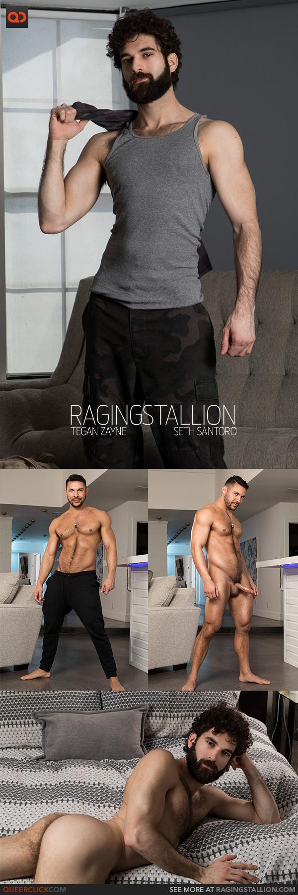 Raging Stallion:  Seth Santoro and Tegan Zayne