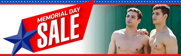 Corbin Fisher Memorial Day Sale!