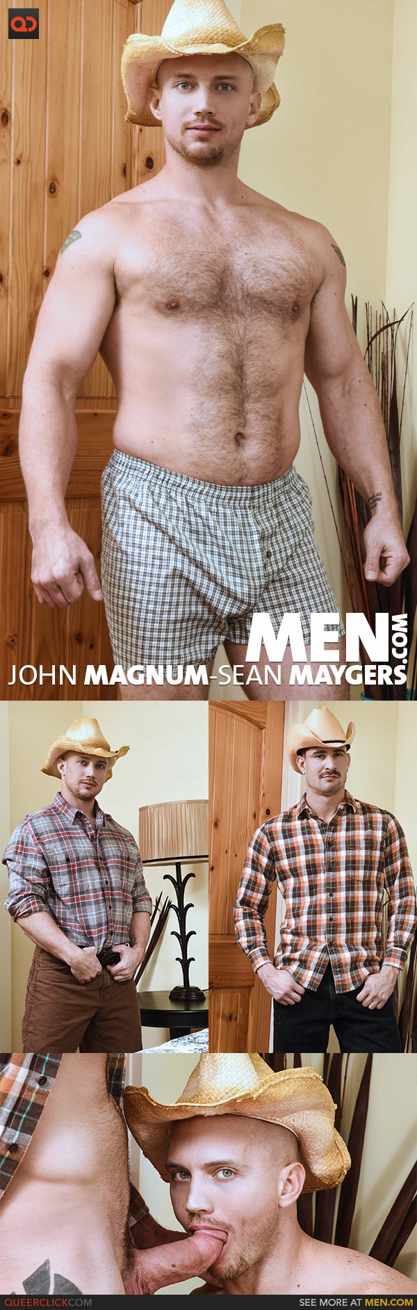Men.com:  John Magnum and Sean Maygers
