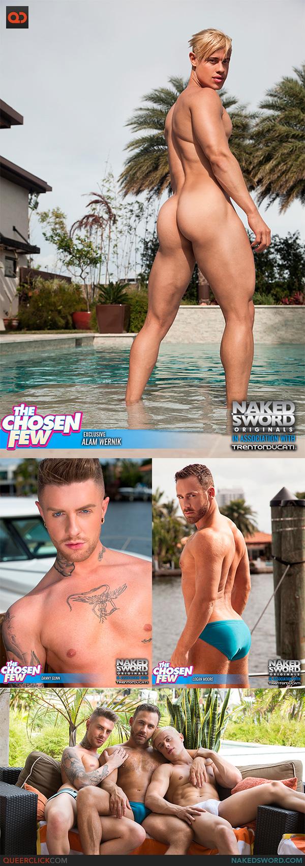 Naked Sword: Alam Wernik, Logan Moore and Danny Gunn