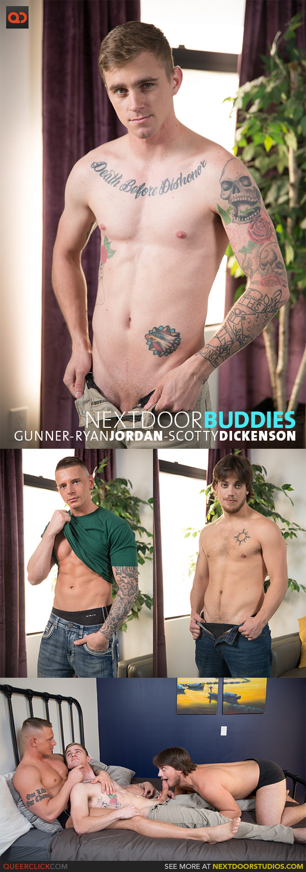 Next Door Studios:  Gunner, Ryan Jordan and Scotty Dickenson