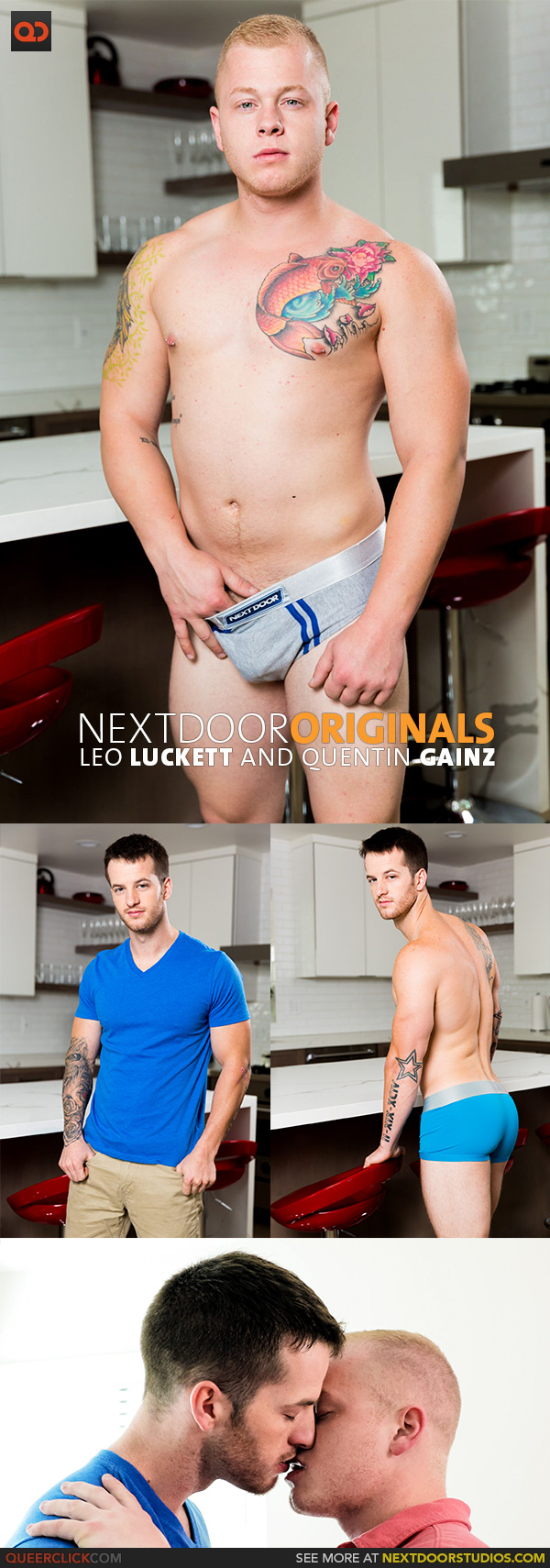 Next Door Studios: Leo Luckett and Quentin Gainz