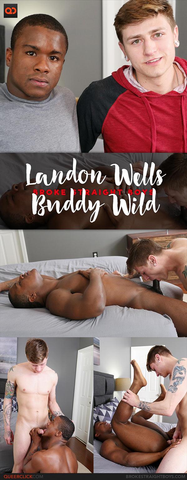 Broke Straight Boys: Landon Wells Fucks Buddy Wild Bareback