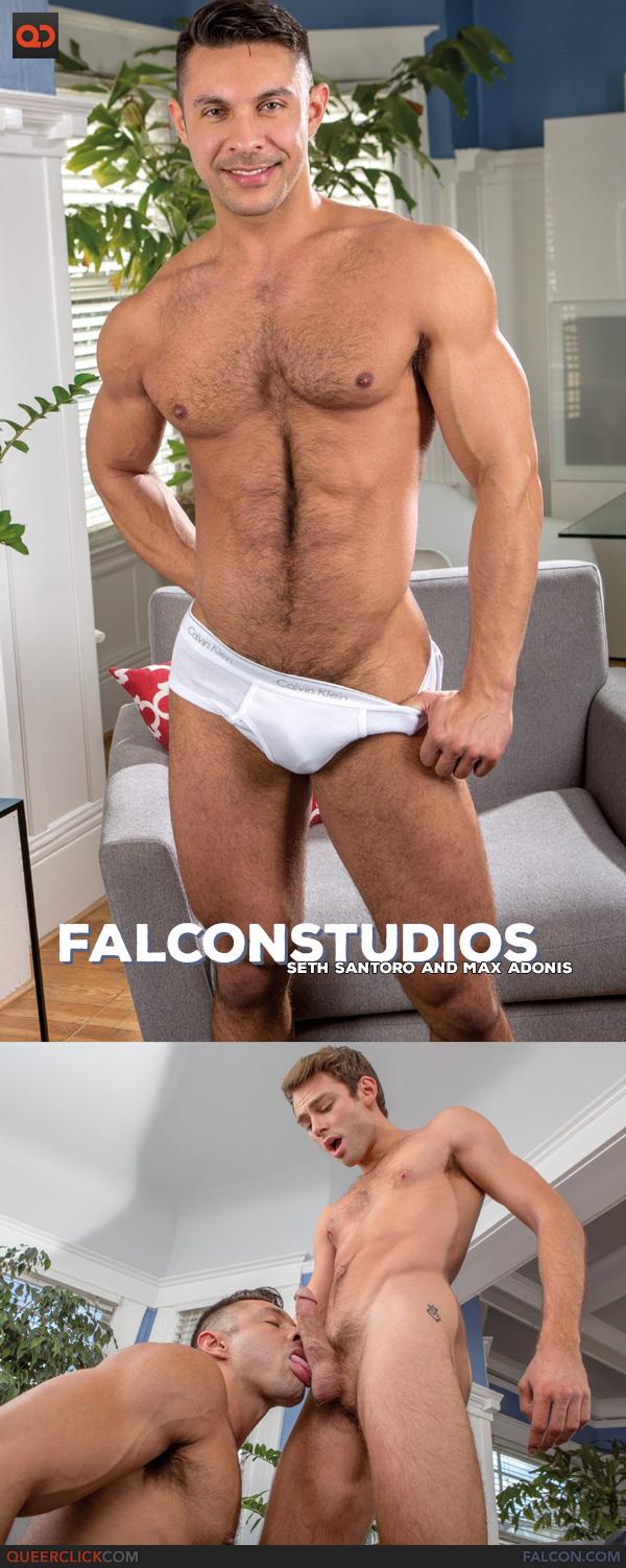 Falcon Studios: Seth Santoro and Max Adonis