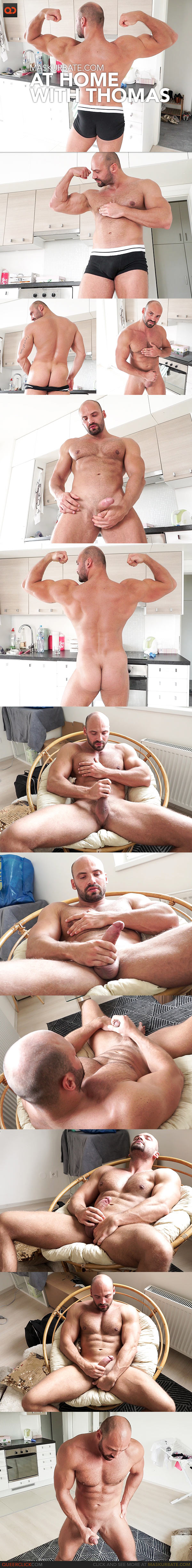 Maskurbate: At Home with Thomas