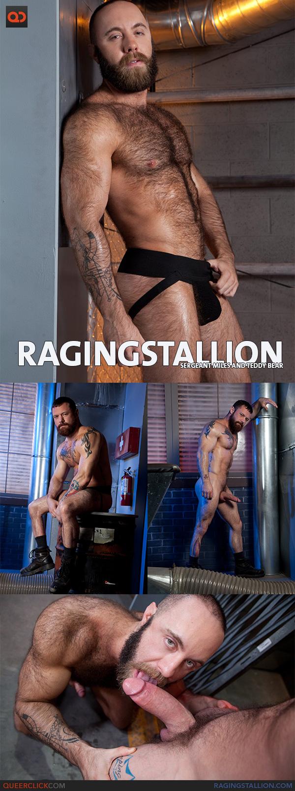 Raging Stallion: Sergeant Miles and Teddy Bear