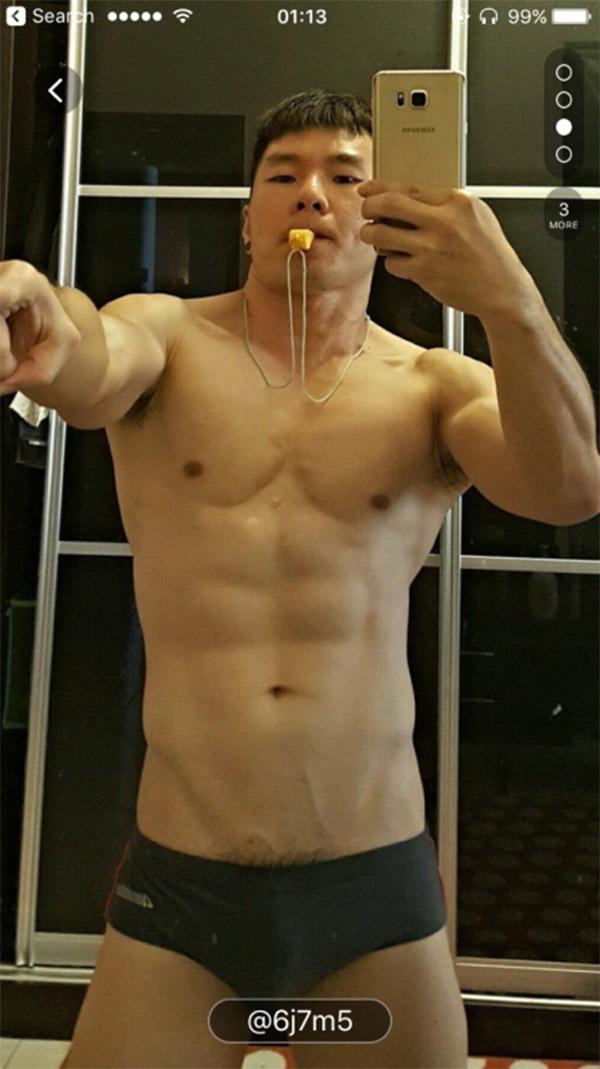Men asian muscles