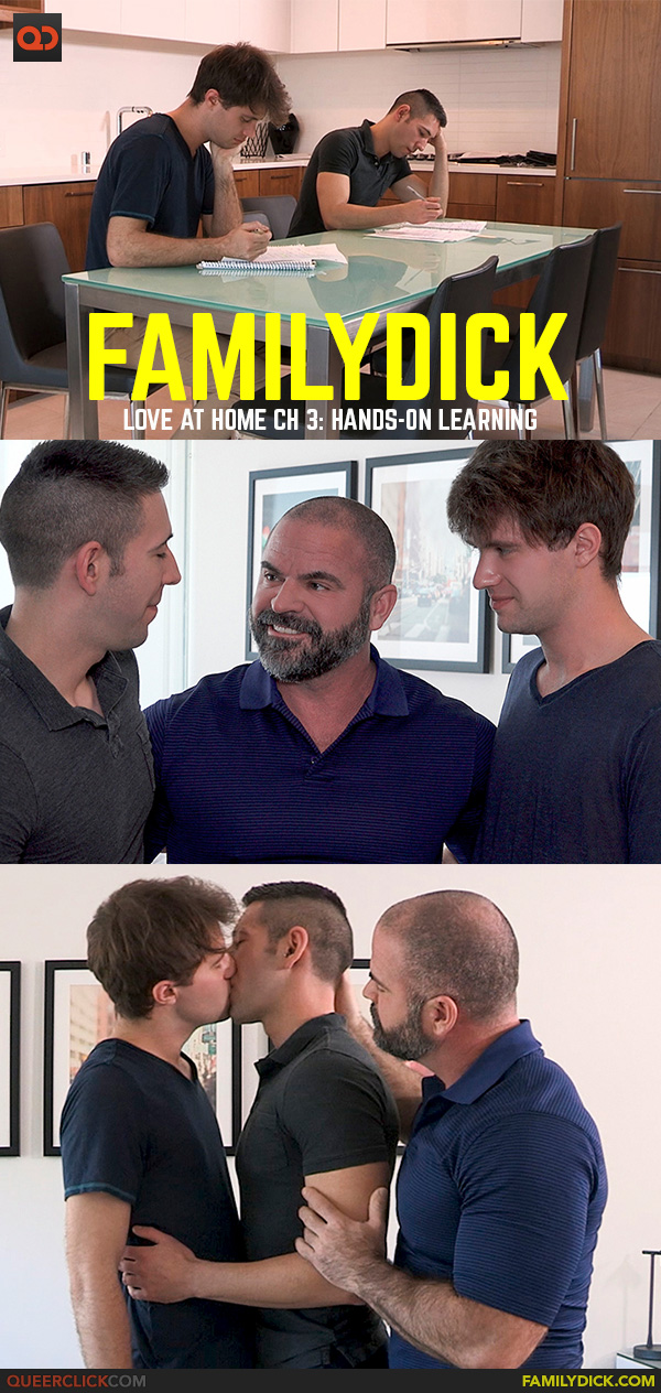 Family Dick: Love At Home Ch 3: Hands-on Learning