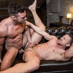 Lucas Entertainment: Tomas Brand and Manuel Skye Flip Fuck Bareback