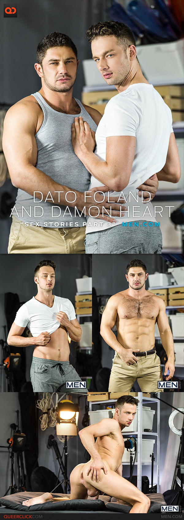 Men.com: Dato Foland Fucks Damon Heart - Sex Stories Pt. 3