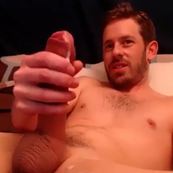 Handsome Boy Jacks-Off His Huge And Juicy Cock!