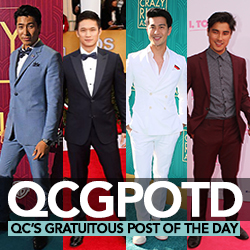QC's Gratuitous Post Of The Day: The Crazy Handsome Men of Crazy Rich Asians