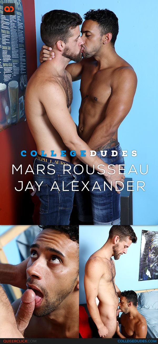 CollegeDudes: Mars Rousseau Fucks Jay Alexander