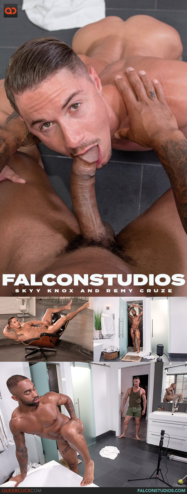 Falcon Studios: Skyy Knox and Remy Cruze