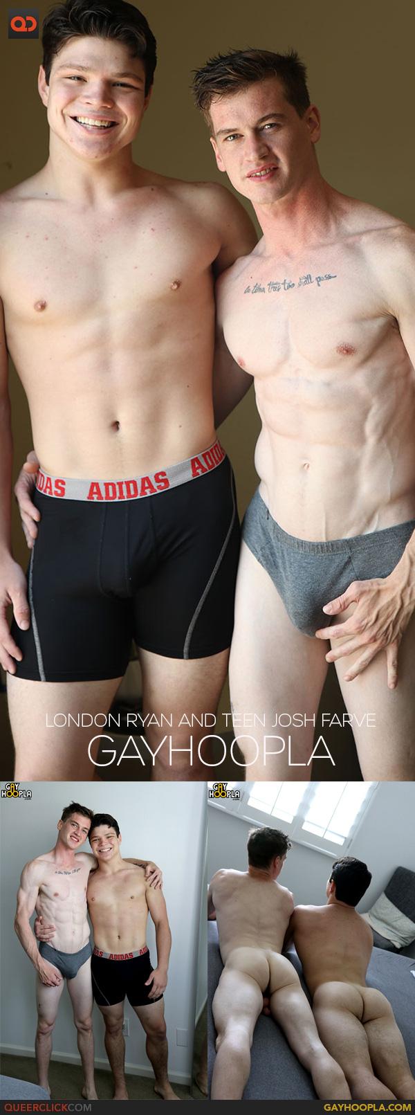 GayHoopla: London Ryan and Teen Josh Farve